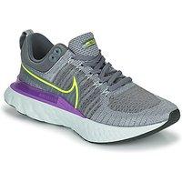 Nike  NIKE REACT INFINITY RUN FLYKNIT 2  men's Running Trainers in Grey