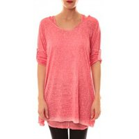 Sweet Company  Tunique Atomika B Rose  womens Tunic dress in Pink