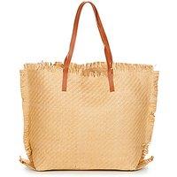 Moony Mood  ODANE  women's Shopper bag in Beige