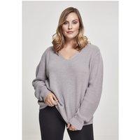 Urban Classics  Sweatshirt femme Urban Classic back lace up GT  women's Sweatshirt in Grey