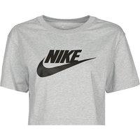 Nike  NSTEE ESSNTL CRP ICN FTR  women's T shirt in Grey