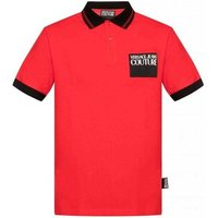 Versace Jeans Couture  B3GVA7P536571_537red  men's Polo shirt in Red