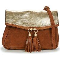 Betty London  OOSTI  women's Shoulder Bag in Brown