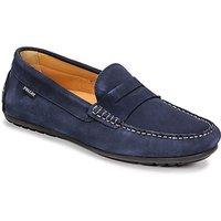 Pellet  Cador  men's Loafers / Casual Shoes in Blue