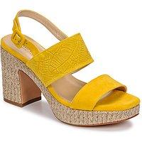 JB Martin  XIAO  women's Sandals in Yellow