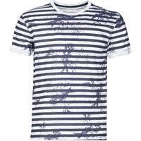 Yurban  OLORD  men's T shirt in Blue