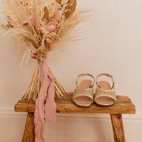 Céleste  CANNELLE  women's Sandals in Gold