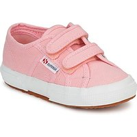Superga  2750 STRAP  girls's Children's Shoes (Trainers) in Pink