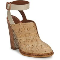 John Galliano  AN9211  womens Clogs (Shoes) in Beige