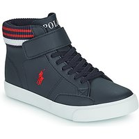 Polo Ralph Lauren  THERON  girlss Childrens Shoes (High-top Trainers) in Blue