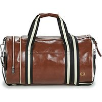 Fred Perry  CONTRAST COLOUR BARREL BAG  mens Sports bag in Brown