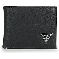 Guess  CERTOSA SAFFIANO BILLFORD WITH COIN POCKET  mens Purse wallet in Black