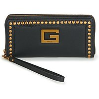 Guess  BLING SLG LARGE ZIP AROUND  womens Purse wallet in Black