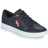 Tommy Hilfiger  TOMMY MONOGRAM CASUAL SNEAKER  women's Shoes (Trainers) in Blue