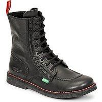 Kickers-MEETICKZIP-womens-High-Boots-in-Black
