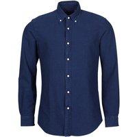 Polo Ralph Lauren  TRENNYB  men's Long sleeved Shirt in Blue