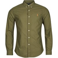 Polo Ralph Lauren  DRISSY  men's Long sleeved Shirt in Green