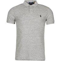 Polo Ralph Lauren  DOLINAR  men's Polo shirt in Grey