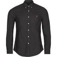 Polo Ralph Lauren  CAMISETA  men's Long sleeved Shirt in Black
