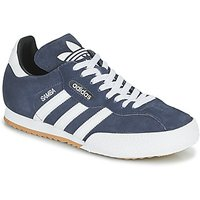 adidas  SUPER SUEDE  men's Shoes (Trainers) in Blue