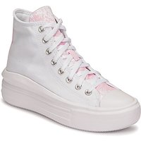 Converse  CHUCK TAYLOR ALL STAR MOVE HYBRID FLORAL HI  women's Shoes (High-top Trainers) in White