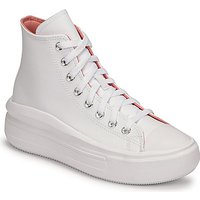 Converse  CHUCK TAYLOR ALL STAR MOVE HYBRID SHINE HI  women's Shoes (High-top Trainers) in White