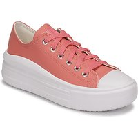 Converse  CHUCK TAYLOR ALL STAR MOVE HYBRID SHINE OX  women's Shoes (Trainers) in Pink