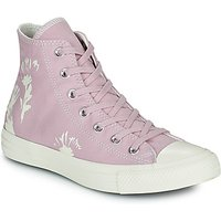 Converse  CHUCK TAYLOR ALL STAR HYBRID FLORAL HI  women's Shoes (High-top Trainers) in Purple
