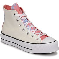 Converse  CHUCK TAYLOR ALL STAR LIFT HYBRID SHINE HI  women's Shoes (High-top Trainers) in White