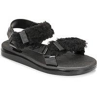 Melissa-MELISSA-PAPETTE-FLUFFY-RIDER-AD-womens-Sandals-in-Black