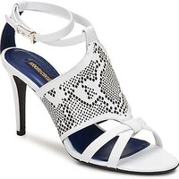 Roberto Cavalli  TPS016  women's Sandals in White