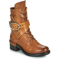 Airstep / A.S.98  NOVASUPER LACE  womens Low Ankle Boots in Brown