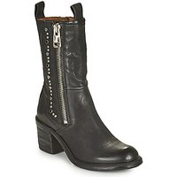 Airstep / A.S.98  JAMAL STUDS  women's Low Ankle Boots in Black