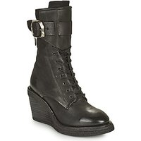 Airstep / A.S.98  TALL  women's Low Ankle Boots in Black