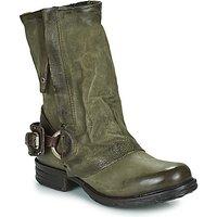 Airstep / A.S.98  SAINT EC  women's Mid Boots in Kaki
