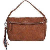 Desigual  DEJA VU NARBONNE FLAP  womens Shoulder Bag in Brown