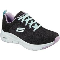 Skechers-Arch-Fit-Comfy-Wave-Womens-Sports-Trainers-womens-Trainers-in-Black