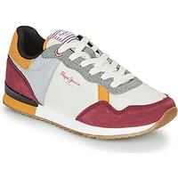Pepe jeans  ARCHIE CITY  women's Shoes (Trainers) in Beige