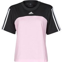 adidas  WECBT  women's T shirt in Black