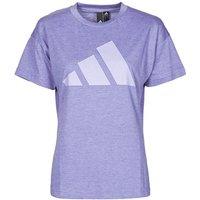 adidas  WEWINTEE  women's T shirt in Purple