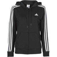 adidas  W 3S FT FZ HD  women's Sweatshirt in Black