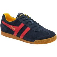 Gola  Harrier Suede Womens Trainers  women's Shoes (Trainers) in Blue