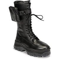 Bronx-JAXSTAR-HIGH-womens-Mid-Boots-in-Black