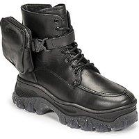 Bronx  JAXSTAR MID  women's Mid Boots in Black
