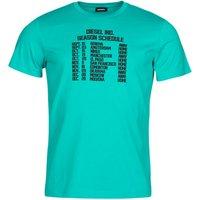 Diesel  T-DIEGOS  men's T shirt in Blue