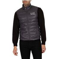 Emporio Armani EA7  Down Gilet  men's Jacket in Black