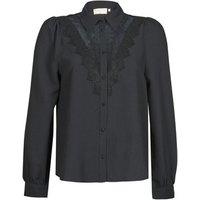 Moony Mood  ABBECOURS  women's Shirt in Black