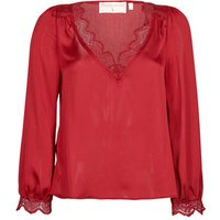 Moony-Mood-ABITAIN-womens-Blouse-in-Red