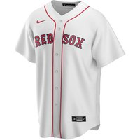 Nike  Maillot Official Replica Boston Red Sox  men's T shirt in White