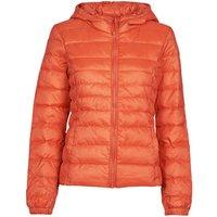 Only  ONLTAHOE  women's Jacket in Orange